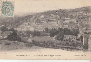 Algeria Philippeville Djebel-Addouna panorama 1906