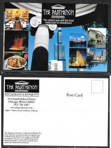 Illinois, Chicago, The Parthenon Restaurant, unused
