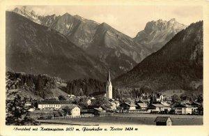 Oberstdorf mit Krottenspitzen Fur Schiesser Fur Schiesser u Kratzer Postcard
