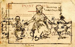 Black Culture - He'se Come for Christmas! (Tuck Series Christmas Postcard 1...