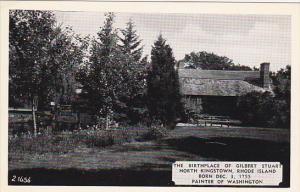 The Gilbert Stuart Brithplace North Kingston Rhode Island Dexter Press