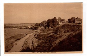 WAREHAM, Dorset, England, 1900-1910's; The Old Mill From North Walls