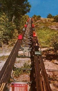NH - North Conway. Skimobile Tramway on Mt Cranmore