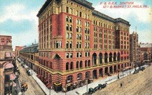 USA - Pennsylvania Philadelphia P & R.R.R Station 12th & Market Street 04.24