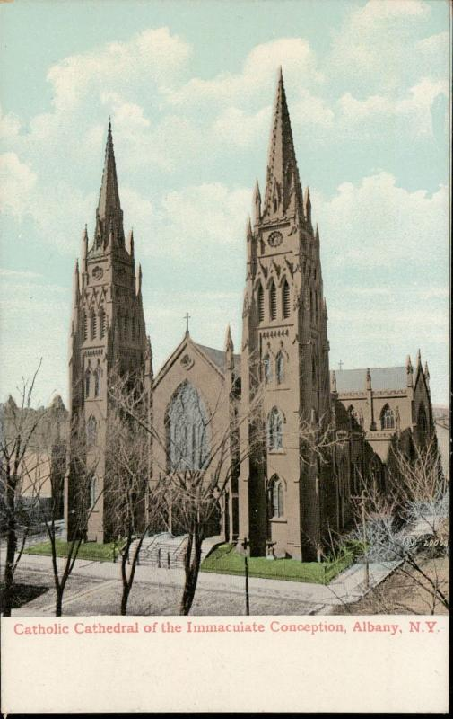 Catholic Cathedral of the Immaculate conception Albany New York