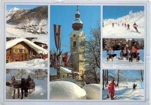 B83224 altenmarkt zauchensee salzburg land wintersportzentrum  austria