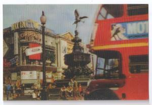 3-D Lenticular London Piccadilly Circus 3D