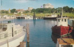 Scenic view,  Small Yacht Harbor,  Gulfport,  Mississippi,  PU_1963