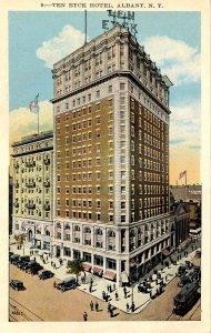 NY - Albany. Ten Eyck Hotel