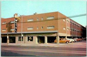 Dayton, Ohio Postcard KEY MOTEL 222 East First Street c1960s Chrome Unused