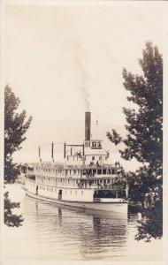 RP;  Passenger Ship on a lake, Steamer, 10-20s