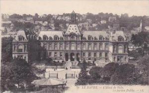 France Le Havre L'Hotel de Ville 1919