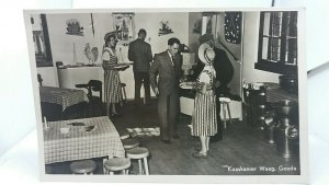 Vintage RP Postcard Kaaskamer Waag Gouda