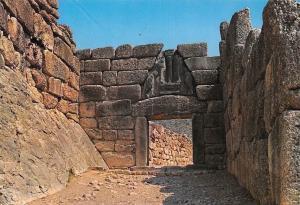 Greece Mykaene Lio nGate, Postal des Lions