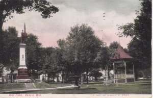 BERLIN, Wisconsin, 1910, City Park