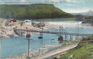 Gold Ray Dam on Rogue River, Table Rock and Mt. Pitt, Oregon, 00-10s