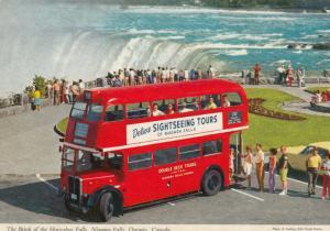 NIAGARA FALLS , Ontario , Canada , 1950-60s ; The Brink of the Horseshoe Falls
