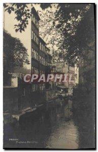 Postcard Old Praha Prazske Benatky