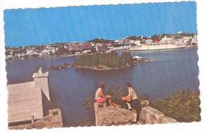 View of Hamilton Harbour, Bermuda, PU_1970