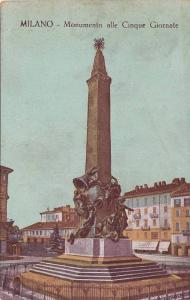Monumento Alle Cinque Giornate, Milano (Lombardy), Italy, 1900-1910s