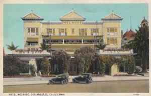 LOS ANGELES , California , 1910s ; Hotel Melrose