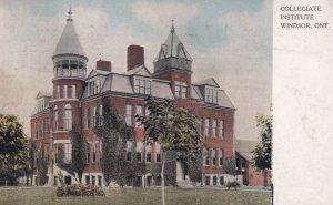 WINDSOR, Ontario, Canada, PU-1906; Collegiate Institute