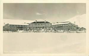 1940s Sun Valley Lodge Idaho RPPC Photo Postcard 6065