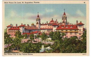 St. Augustine, Florida, Hotel Ponce De Leon