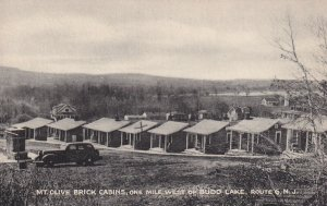ROUTE 6, New Jersey, 1930s; Mt. Olive Brick Cabins