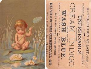 Approx Size Inches = 2.75 x 4.25  Trade Card