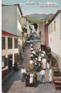 Caminho do Monte Descida de Carros Madeira Portugal