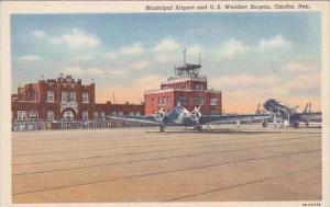 Nebraska Omaha Municipal Airport &  U S Weather Bureau