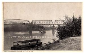 West Virginia , Ohio river and Steamship Stanley