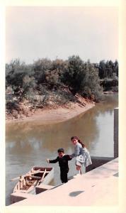 Jordan Old Vintage Antique Post Card Site of baptism Jordan River Non Postcar...