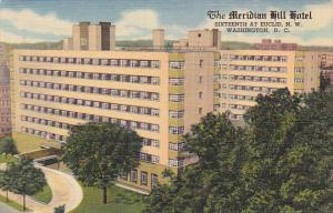 Washington DC The Meridian Hill Hotel Curteich