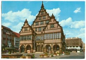Germany, Paderborn, Das schone Renaissance-Rathaus und Kammerspiele, used