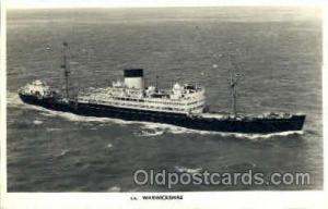 s.s. Warwickshire Steamer Ship Postcard Postcards  s.s. Warwickshire