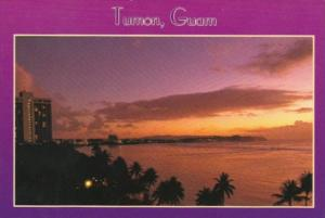 Guam Tropical Sunset Over Tumon Bay