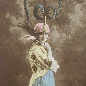 Gaby Deslys French Silent Film Theatre Actress Dancer Singer Photo Postcard F81