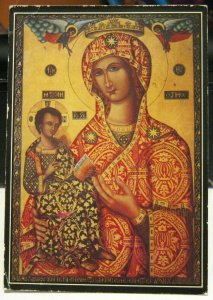 Cyprus Holy Miracle Icon Trooditissa Monastery - unposted