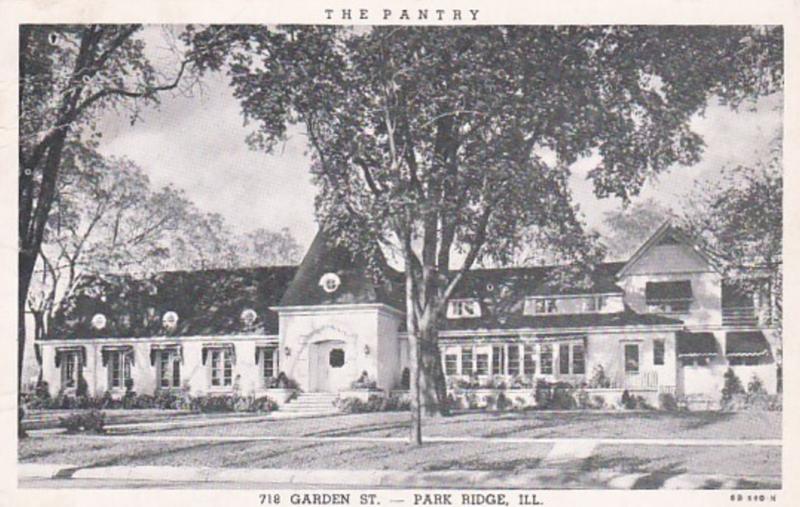 Illinois Park Ridge The Pantry Restaurant Curteich