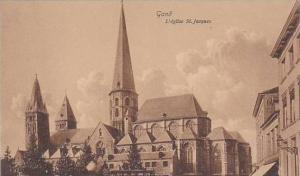 Belgium Gent Gand L'eglise Saint Jacques
