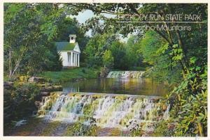 Pennsylvania Pocono Mountains Hickory Run State Park The Falls 1996
