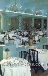 Dining Room, Hotel Dennis in Atlantic City, New Jersey