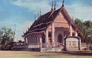 Vintage Postcard, Buddhist Temple, Phuket, Thailand, Asia 21Q