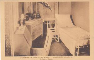 Private Room Academy Of Jesus and Mary Highland Mills New York Albertype