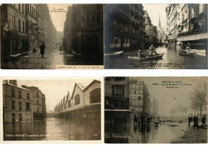 PARIS 1910 FRANCE INONDATIONS FLOOD DISASTER 600 CPA (L2487)