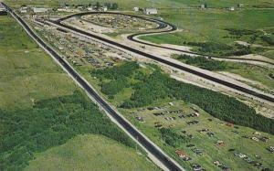 The autodrome,  the drag strip and the race-track,  St-Felicien,  Quebec,  Ca...