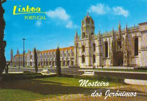 Jeronimos Monastery Lisboa Portugal