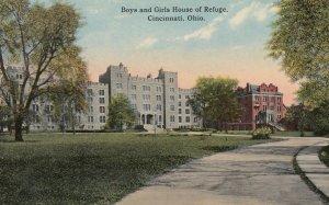 CINCINNATI , Ohio , 00-10s ; Boys & Girls House of Refuge